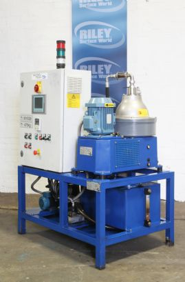 260 Centrifuge with Automatic Discharge