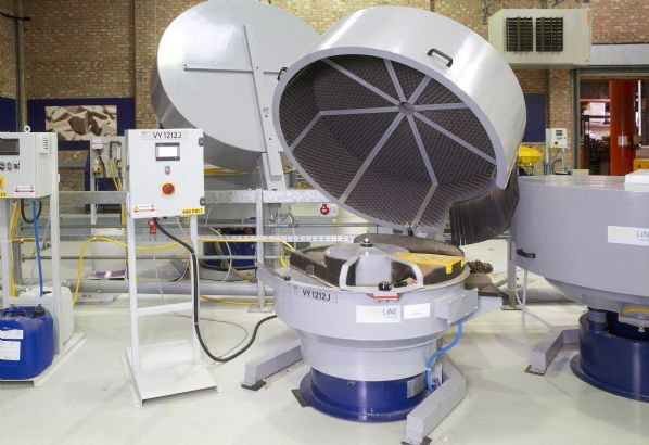 RVD-1 RL SmartLine Round Bowl Vibratory Drying Machine