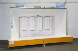 KPO-4 Powder Coating Booth