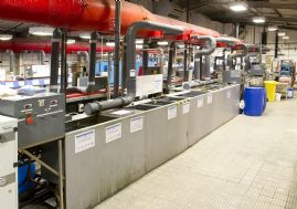 Zinc Nickel & Cadmium Manual Plating Line - Line Number 2 - Including Pre & Post Treatment