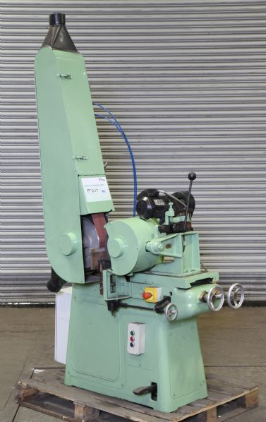 Machine as would be in a Refurbished Condition, Shown with Optional Belt Linishing Attachment