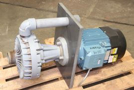 Serfilco EF Sump style pumps with 7.5 hp motors