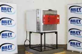 Heraeus Furnace and Stand in Drip Tray