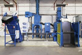 Overview of Gibsons Tumbleblast Airless Shotblast Machine - Complete Installation
