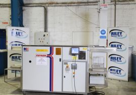 Kerry Microsolve M350 Ultrasonic Precision Solvent Cleaning Line