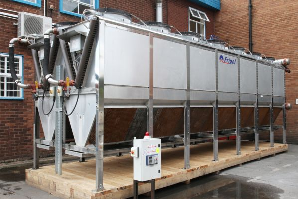 Frigel Ecodry Adiabatic Cooler with Specially made Pallet for ease & convenience of Transport