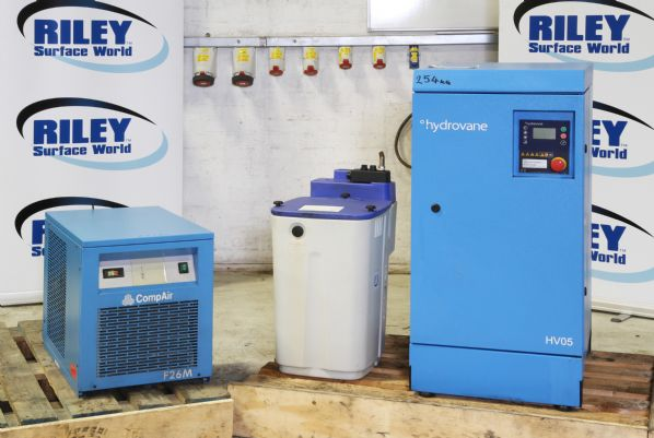 Compact Self Contained Compressor (2009) with Air dryer and Condensate Recovery unit