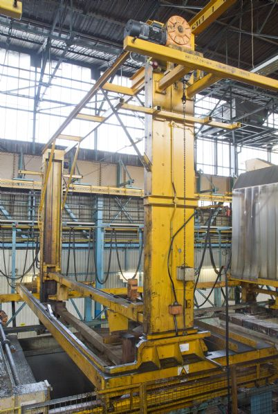 Ecote Electrocoating Line with Transporters