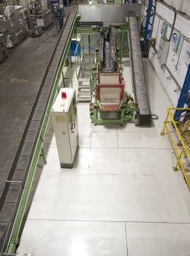 Rosler Vibratory Finishing Continuous Flow Linear Installation