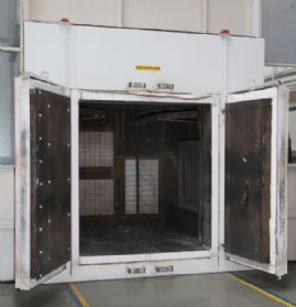 JLS (Redditch) Ltd Double Door 750°C Electric Treatments and Curing Oven